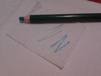 Смываемый карандаш для ткани