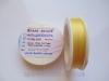 Бисерная нить ТИТАН 100 (желтый светлый)